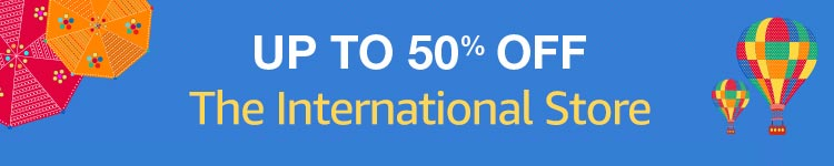 The International Store Sale at Amazon