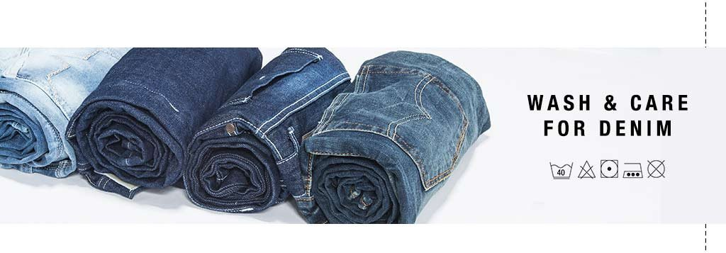 wash and care for denim