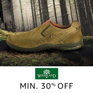 Woodland: Min 30% off