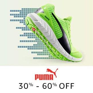 PUMA: 30% -60% off