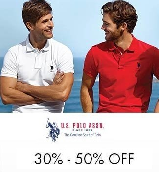 U.S> Polo up to 50% off