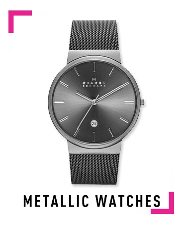 Mettalic Watches