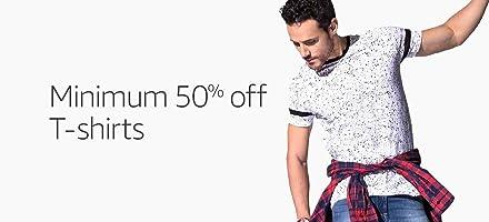 T-shirts Min 50% off