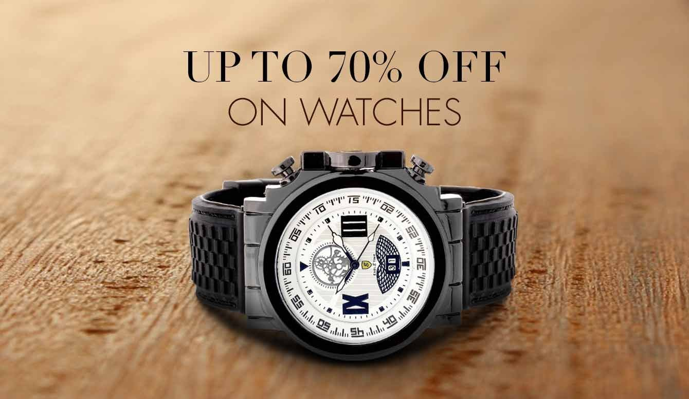 70% off watches