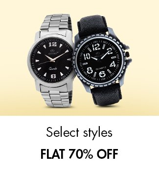 Watches flat 70