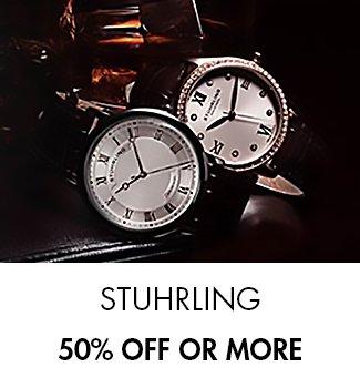 Stuhrling: 50 or more