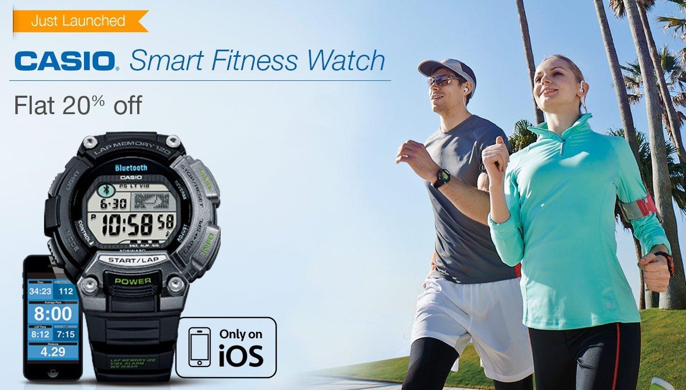 Casio Smart Fitness Watch