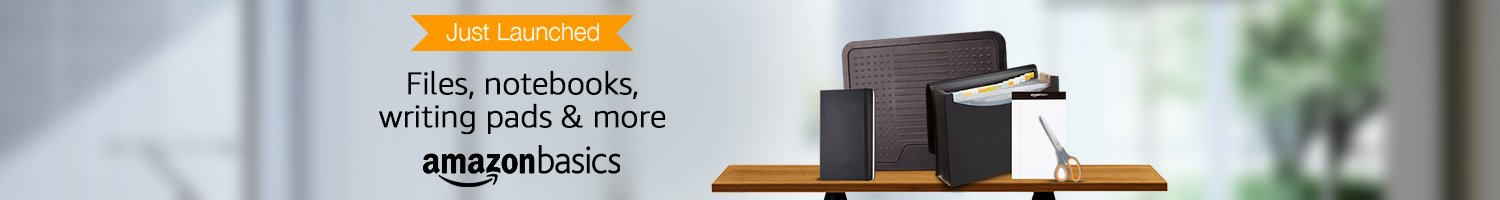 Office products from AmazonBasics