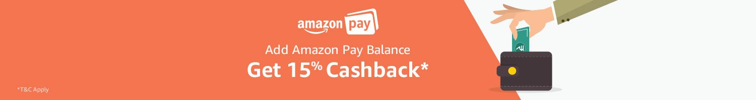 Get 15% off Amazon Pay balance