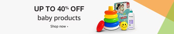 Up to 40% off: Baby products