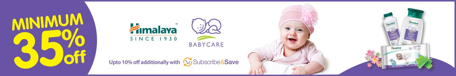 Minimum 35% off Himalaya Baby Care