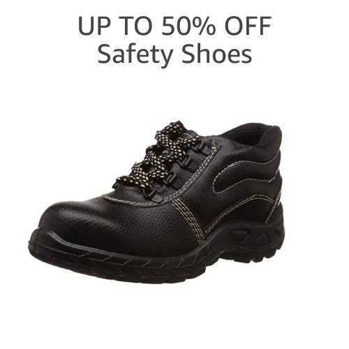 UP TO 50% OFF: SAFETY SHOES