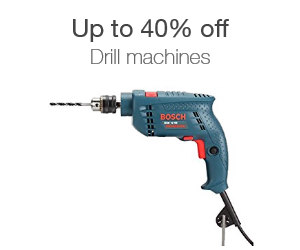 Up to 40% off drill machines