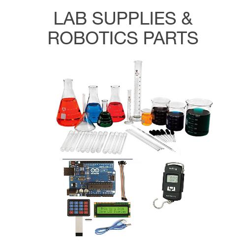 Lab supplies & robotics parts