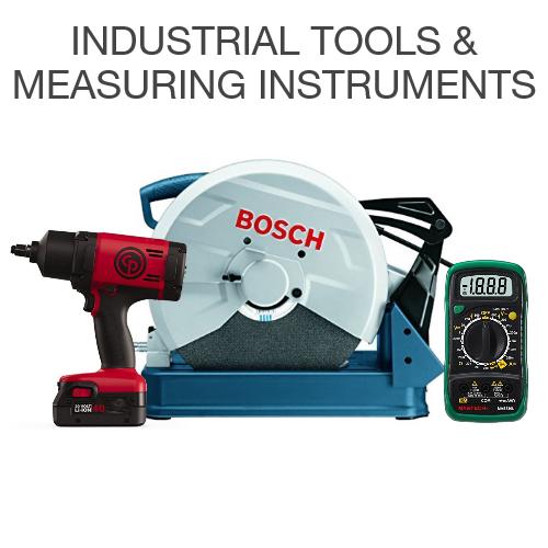 Industrial tools & measuring instruments