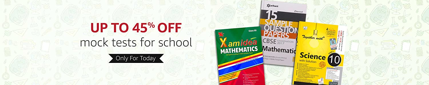 Up to 45% off mock tests for school