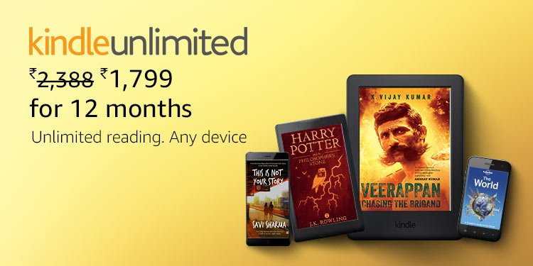 Kindle Monthly Deal