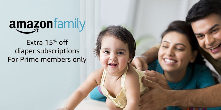 Amazon Family: Extra 15% off diaper subscriptions