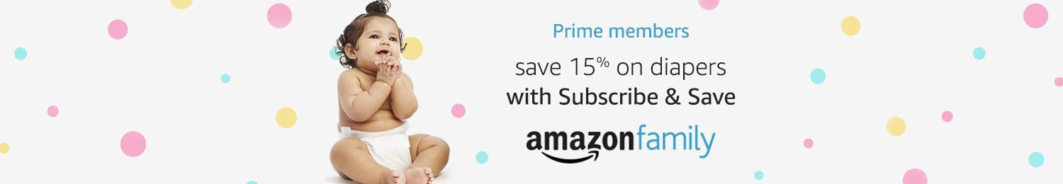 Save 15% on diapers with Family