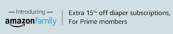Amazon Family: Extra 15% off diaper subscriptions for Prime members