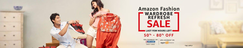 Amazon Wardrobe Refresh Sale