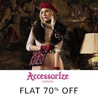 Accessorize: Flat 70% off