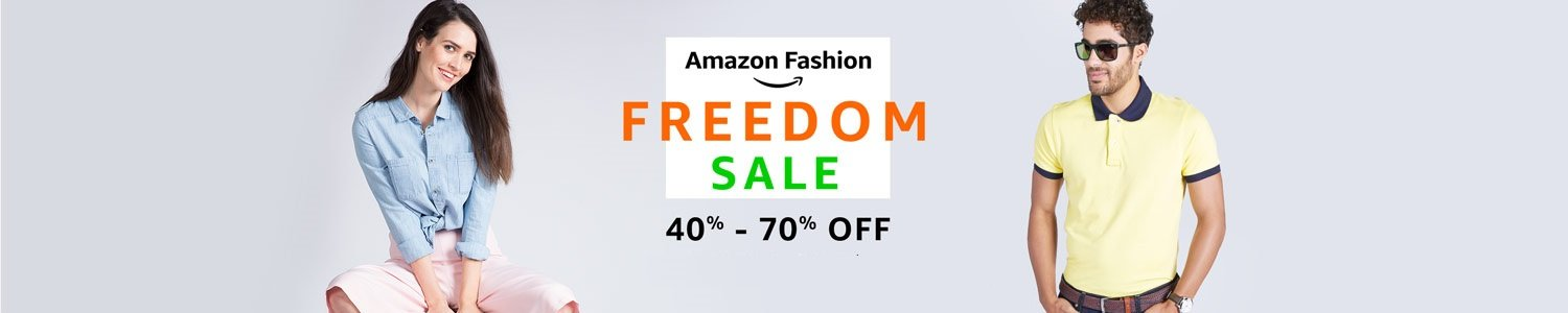 Fashion Freedom Sale: 40% - 70% off
