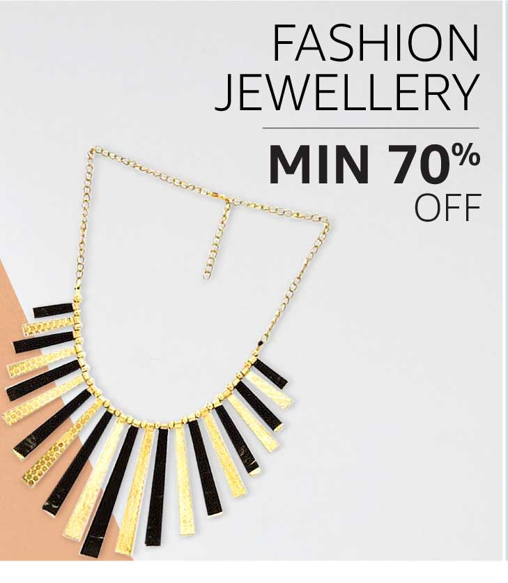 Fashion Jewellery: Minimum 70% off