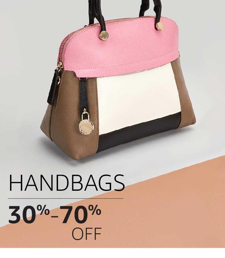 Handbags: 30% to 70% off
