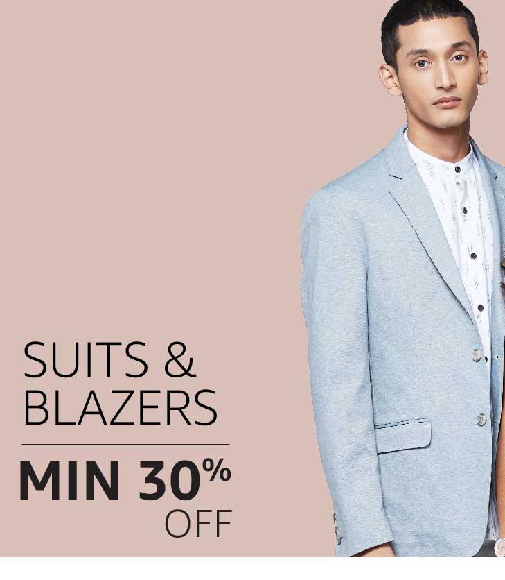 Suits & Blazers: Minimum 30% off