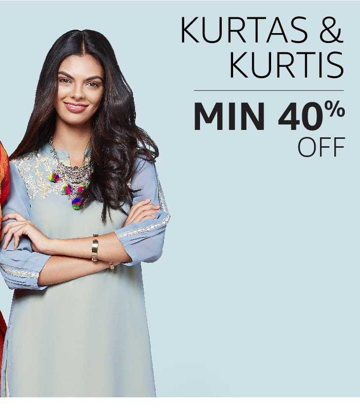 Kurtas & Kurtis : Minimum 40% off