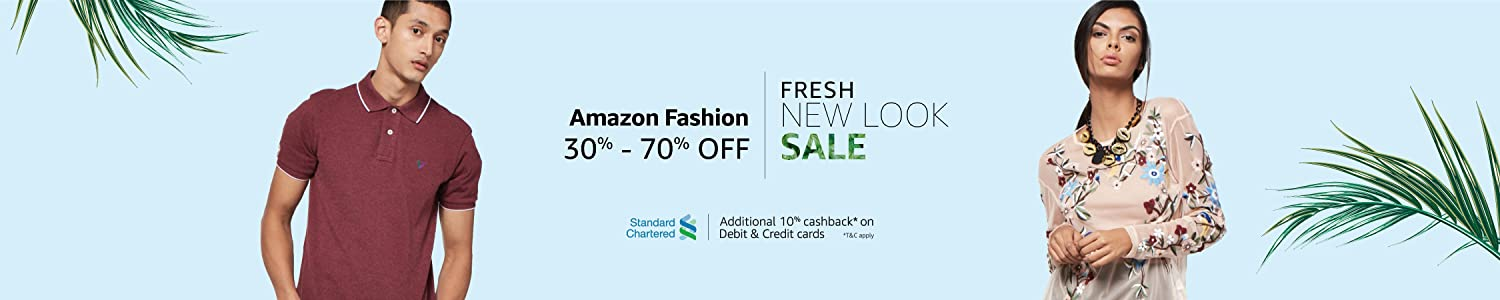 Fresh New Look Sale: 30% - 70% off
