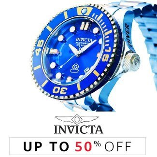 Invicta: Up to 50% off