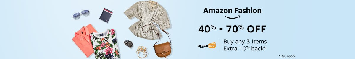 Amazon Fashion: Cashback