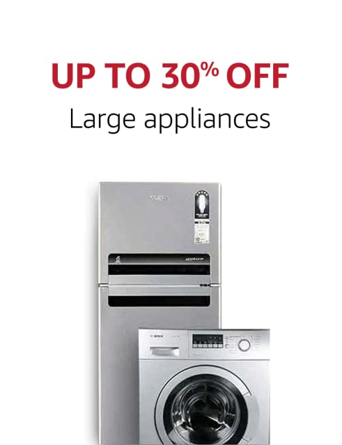 Up to 30% off large appliances