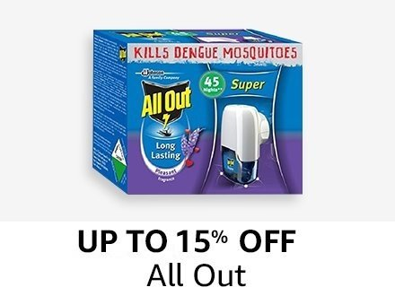 All Out- upto 15% off