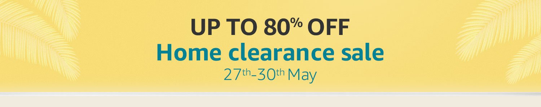 Home Clearance Sale