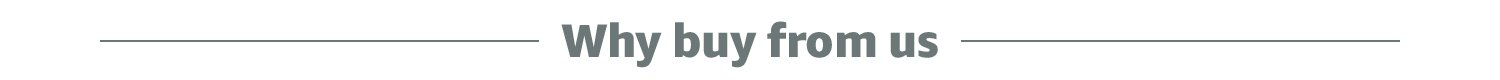 why buy from us