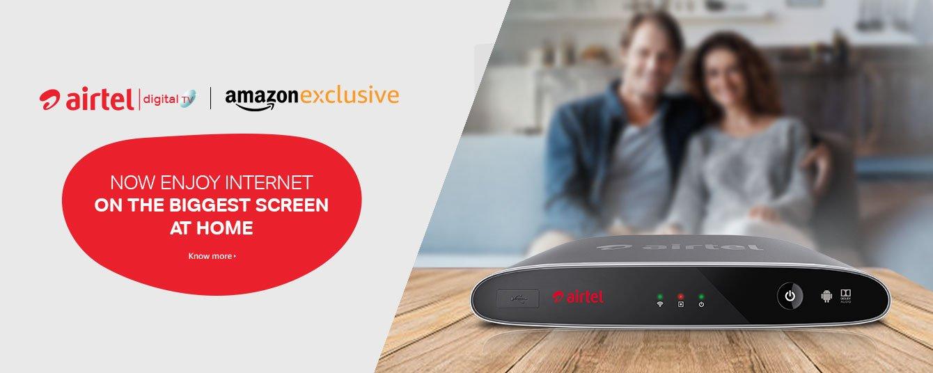 Amazon Exclusive Airtel Internet TV