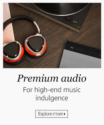 Premium audio store