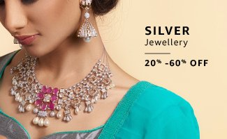 Silver jewellery Min 40% off