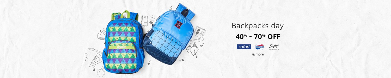 40%-70% off: Backpacks Day