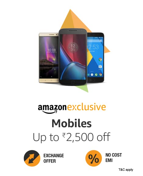 Amazon exclusive mobile offers