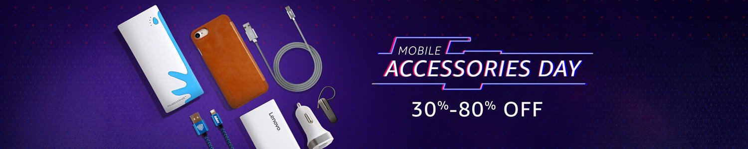 Amazon: Mobile Accessories Day – Upto 80% OFF