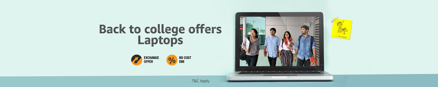 Back to college offers- Laptops 26-28th June