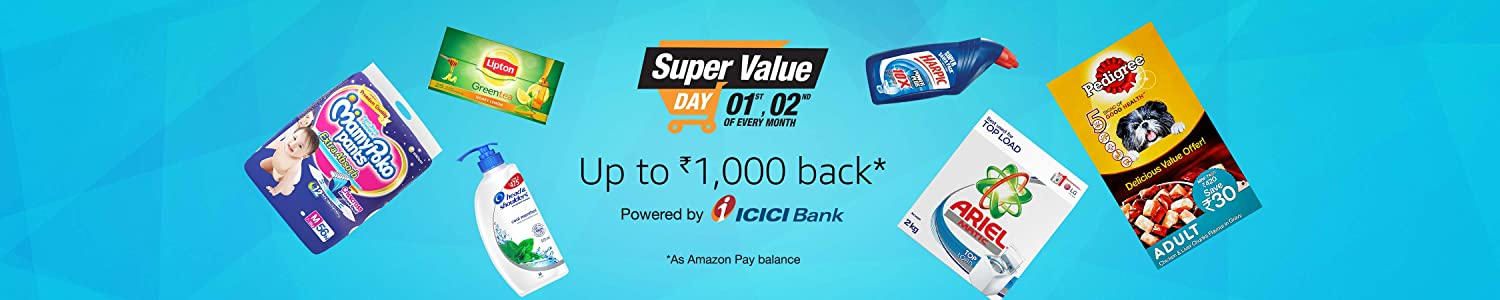 Up to 1000 off: Super value day