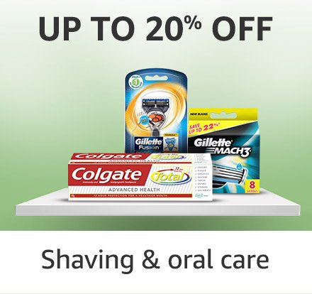 shaving & oral care