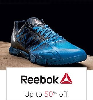 Reebok: Up to 50% off