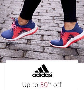 Adidas: Up to 50% off