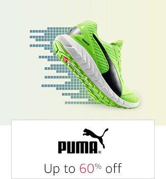 PUMA: Up to 60% off